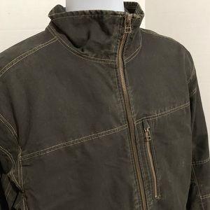 Kuhl Vintage Patina Dye Black Jacket Sz XL NWOT